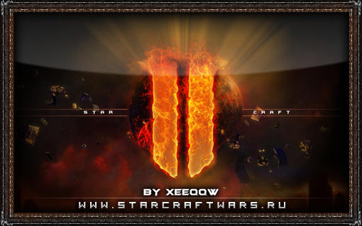 Starcraft 2 - Fire Wallpaper by xeeqqw