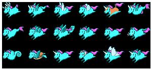 Pixel Ponies by is-chimera