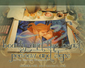 Beauty and the Beast Creation Process - Tutorial