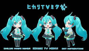 HIKARI TV MIKU EDIT DISTRIBUTION!