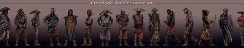 Morrowind persons pack by AlexeyRudikov