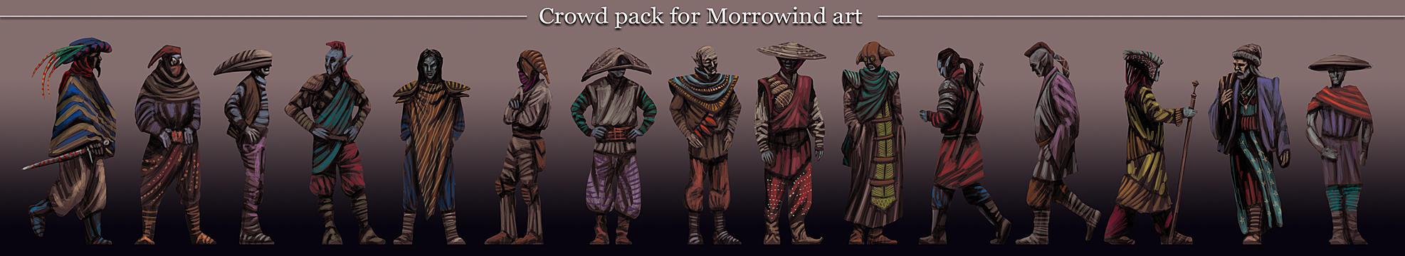 Morrowind persons pack by Lelek1980
