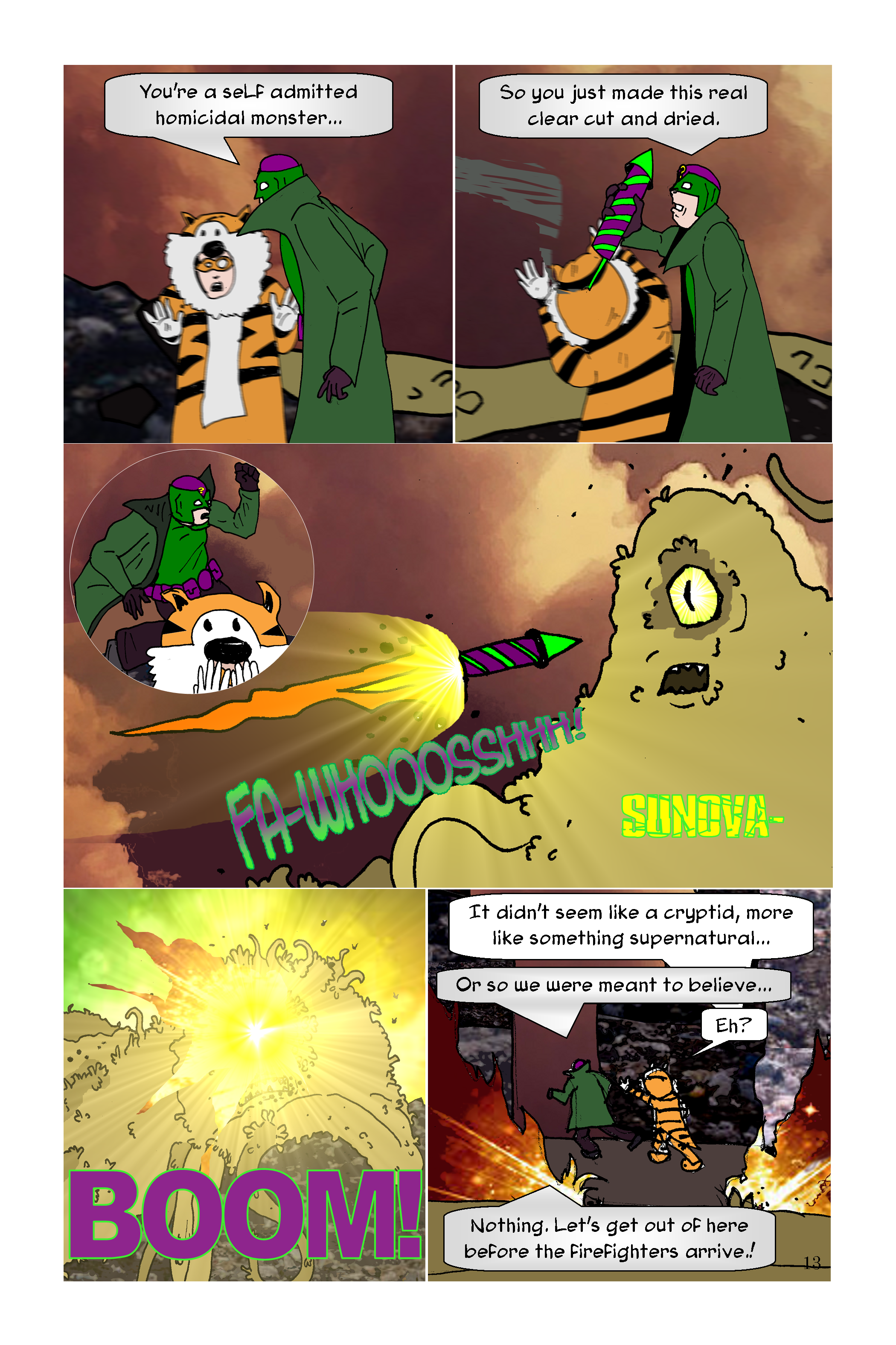 Conundrum Issue 1 Page 13
