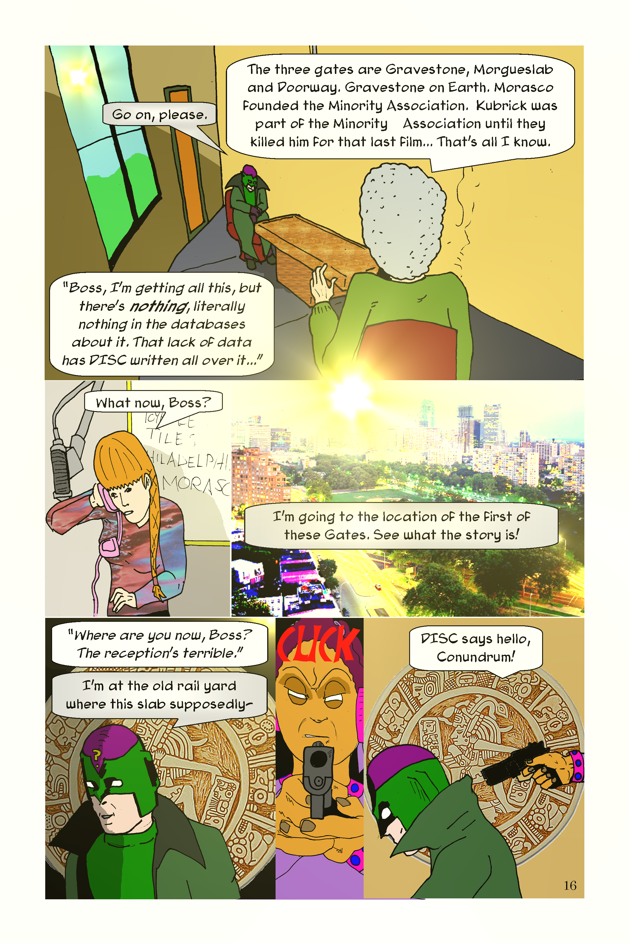 Conundrum Issue 1 Page 16