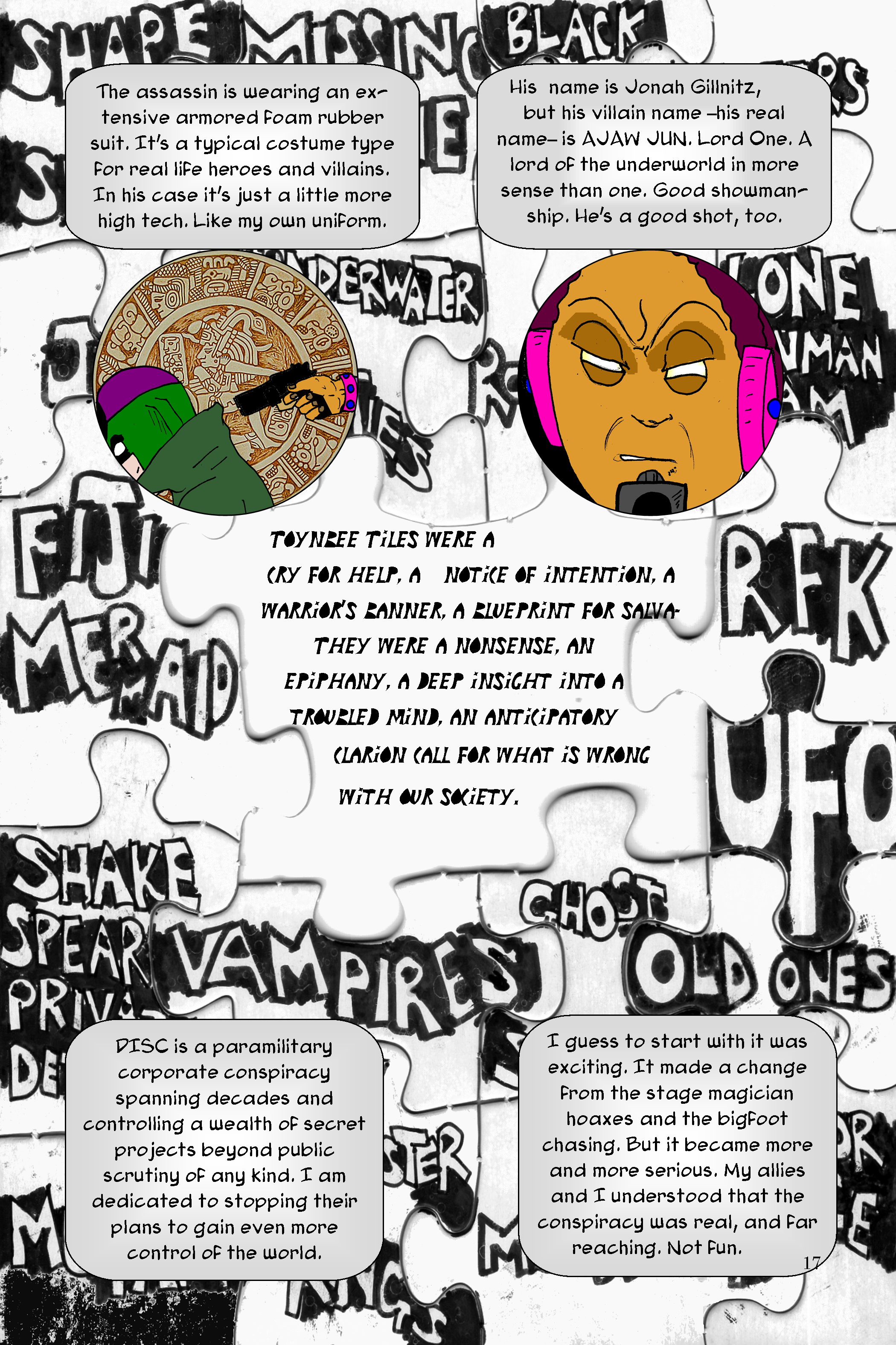 Conundrum Issue 1 Page 17