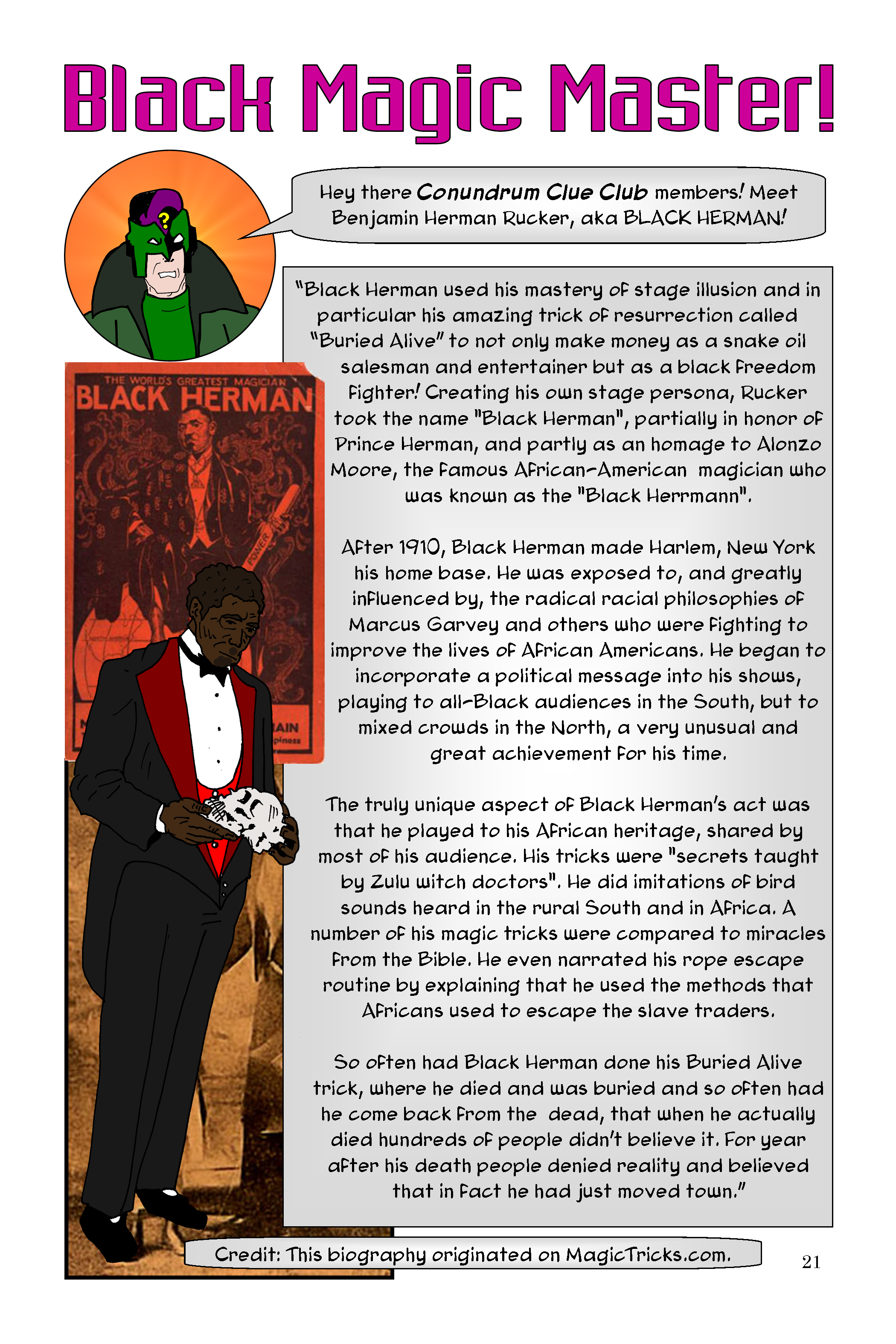 Conundrum Issue 1 Page 21