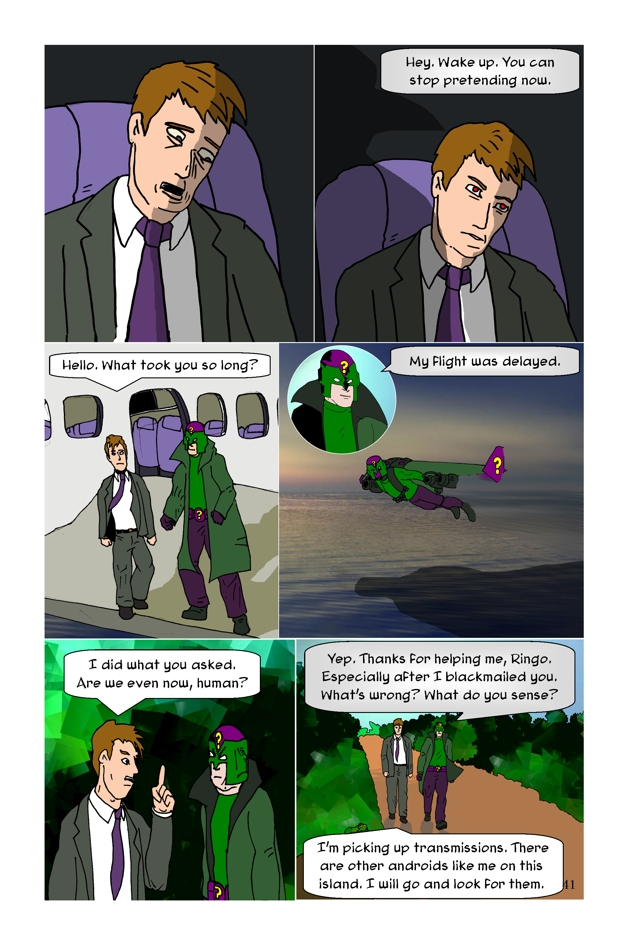 Conundrum Issue 1 Page 41