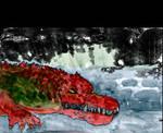 #SwampMan Big Red the Rebelgator