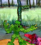 Swampman Vs Rebelgator
