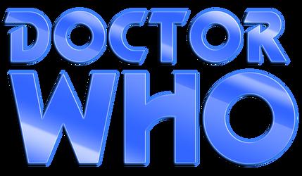 Doctor Who Pertwee/McGann logo PSD