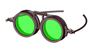 Steampunk Glasses - Animation