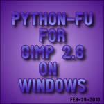 Installing Python for GIMP 2.6