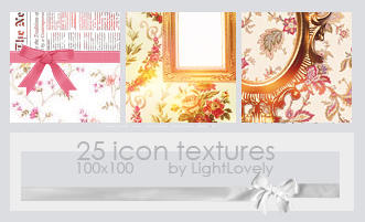 Icon textures by LightLovely