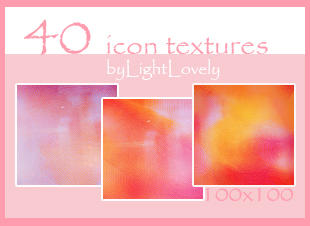 Icon textures 2 by LightLovely