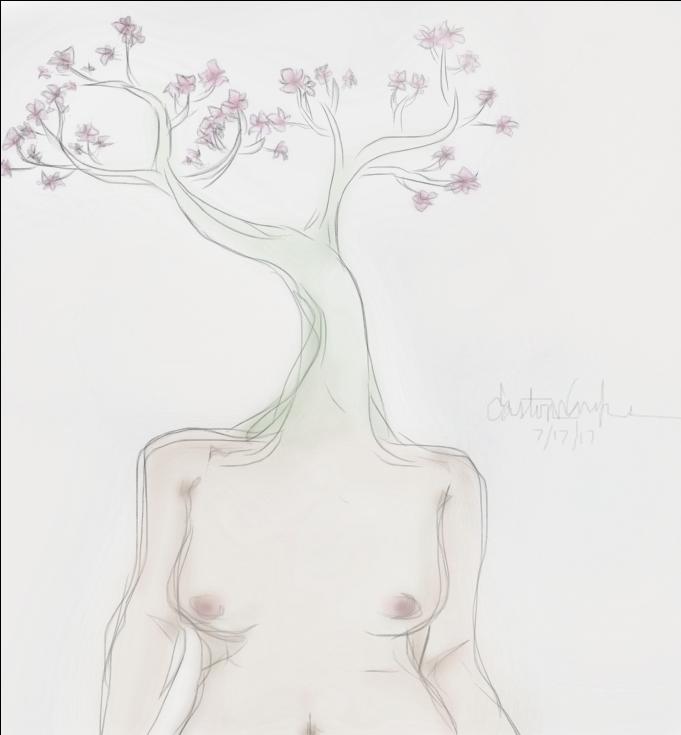 Flower Head by skyfullofmaggots