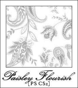 Paisley Flourish for PS by credocola