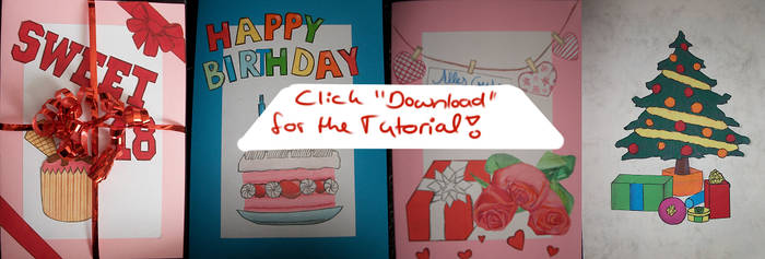 Clever Recycling - Selfmade Greeting Card (+Tut) by GD-Doreen-BJ
