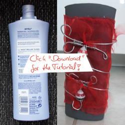 Clever Recycling - ShampooBottle as FlowerPot(+Tut by GD-Doreen-BJ