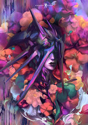Scissor Head: Bouquet by aoxenuk