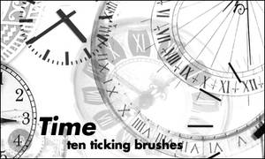 brushes: time