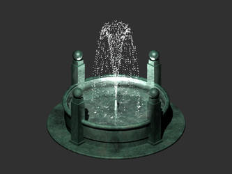 Animated Jade Fountain