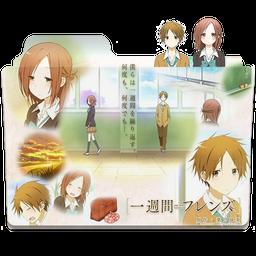 One Week Friends Isshuukan Friends Folder Icon By Kirito Solo On Deviantart