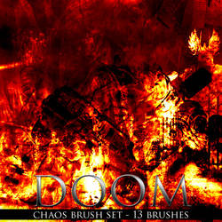 Doom Chaos Brush Set