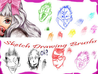 Sketch Drawing Brushes