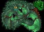 Dragon god 1:vines
