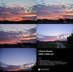 Sky - 5 Stock Photos by Krzysztof Szafulski