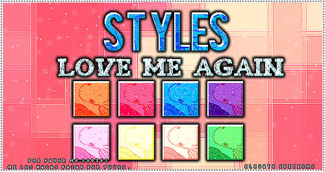 LOVE ME AGAIN +STYLES by ElevateEditions