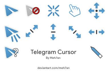Telegram Blue Cursor