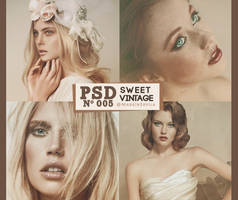 PSD 005 - Sweet Vintage by MadeInSevila