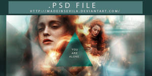 PSD FILE - 003 - You're alone