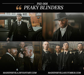 PSD 008 -  Peaky Blinders by MadeInSevila