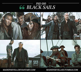 PSD 010 - Black Sails by MadeInSevila