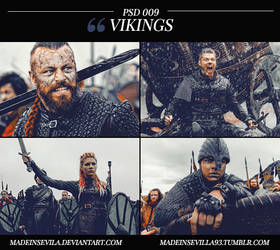 PSD 009 - Vikings by MadeInSevila