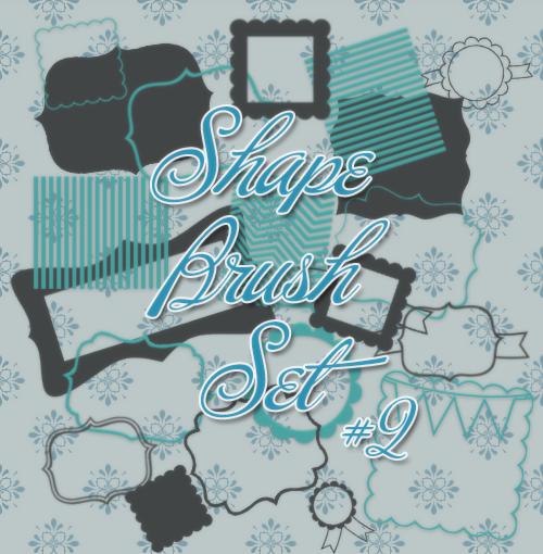 Shape Brush Set #2 by Eminee1D