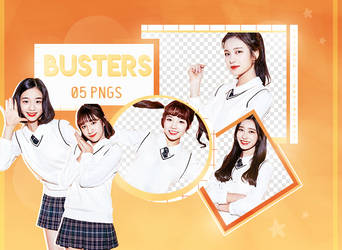 BUSTERS // Png Pack 02 by hxttexk