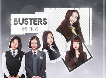 BUSTERS // Png Pack 06 by hxttexk