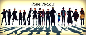 MMD BIG Pose Pack