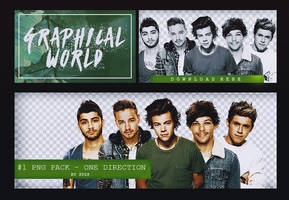 PNG pack #1 - One Direction by GraphicalSuzs