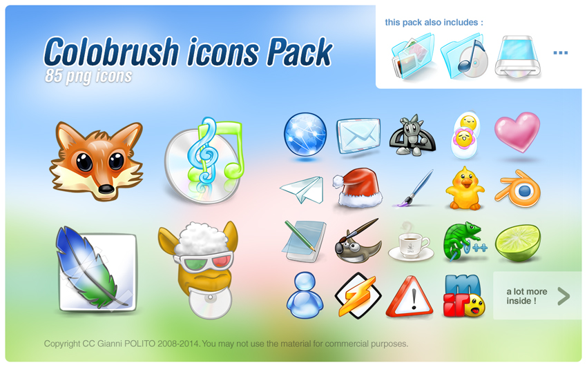 Colobrush icons pack by pgianni