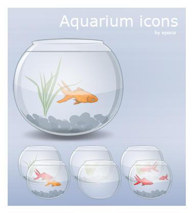 Aquarium Icons by pgianni