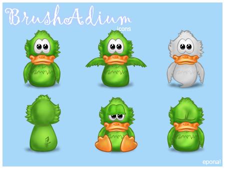 BrushAdium icons by pgianni