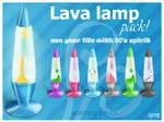 Lava lamp pack