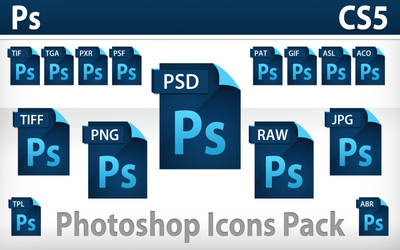 Photoshop CS5 Icons