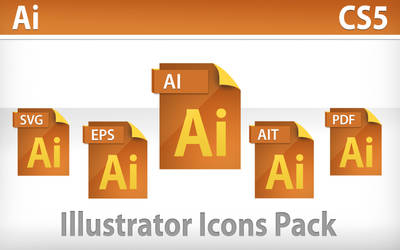 Illustrator CS5 Icons