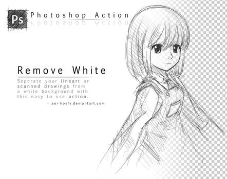 Remove White- Photoshop Action