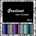 Gradient icon textures set 1